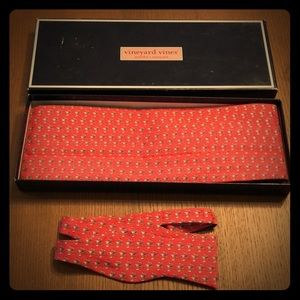 Vineyard Vines Bow tie and Cummerbund